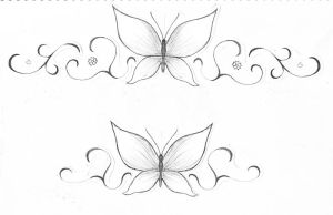 designs the back Bottom of tattoo