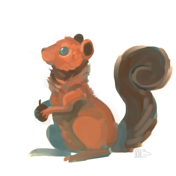 Squirrel by Urswurs