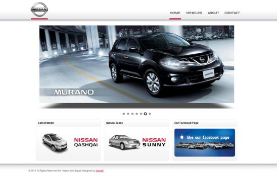 Nissan Auto Egypt by flash-infinity