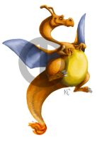 Can't beat me, I got Charizard by Turtle-Arts