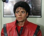 Michael Jackson lifesize Thriller statue angle 2 by godaiking