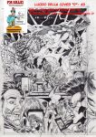On Sale:  cover sketch D- A3-Lucido by PinoRinaldi