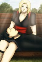 ShikaTema .Tenderly Moments. by Lilicia-Onechan
