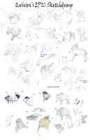 Qwiven's EPIC sketchdump by Qwiven