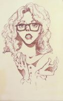 Hipster sketch by Bittylime