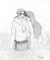 Jim and Ariel-Who knew? by dymira128