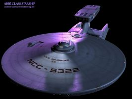 Abbe class starship demo 01 by Enterprise-E