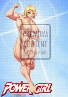 Power Girl Nude (Premium Content) by elee0228