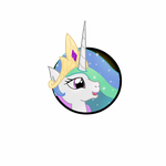 Princess Celestia Icon 2 by Lakword