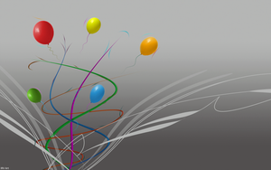 Lines and Balloons by IRV-30