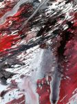 Suicide Abstract Painting by Rima1110cross
