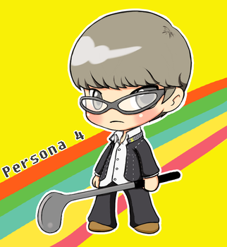MC from Persona 4 by seizuretime