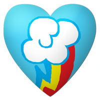 RainbowDash's Cutie Mark Heart by YuiRainbowStar