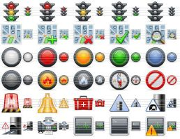 Standard Road Icons by ahasofticons