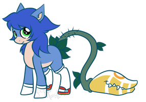 Not Sonic adoptable by SecretMonsters