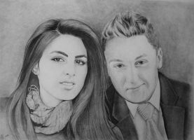 Just a portrait of two young people by MariaSkyba