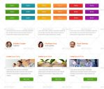Web buttons,testimonials, Services - Graphicriver by Torch-design