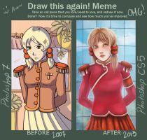 Draw This Again meme by ladindequichante