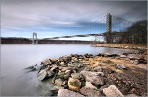 George Washington Bridge by DennisChunga