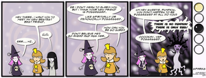 Sparks 027: Possession by SparkstheComic