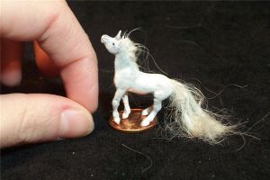 MINIATURE UNICORN by AmandaKathryn