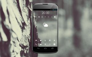 Nexus 4 Grey Wood by Prolite
