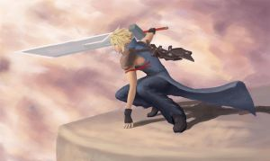 cloud strife--colors by Cris-pq