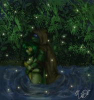 Jungle Couple by nichan