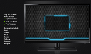 Log on screen NeOn Light by poweredbyostx