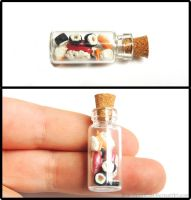 Sushi Bottle Charm by Bon-AppetEats