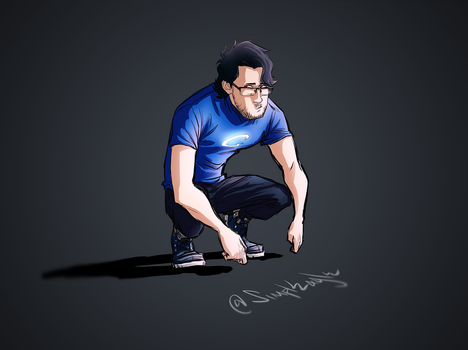 Crouchin' | Google IRL | Markiplier by SimplEagle