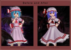 Remilia - Before and After by Primantis
