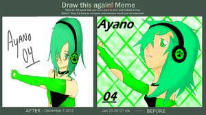 Ayano 04 Draw this again Meme by TheEditCat