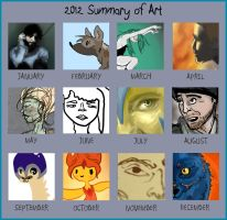 2012 Summary of Art by bambiin