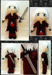 Gift: Dante (Devil May Cry) MiniChibi Plush by mihijime