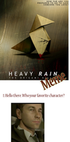 Heavy Rain meme CONTAINS SPOILERS by indySkye