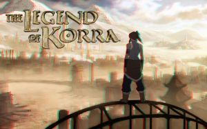The Legend of Korra 3-D conversion by MVRamsey