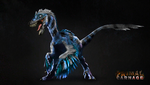 Blue Jay Feathered Raptor (Outdated/Original) by Jurassic4LIFE