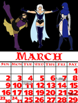 March 2014 by DragonsLover1