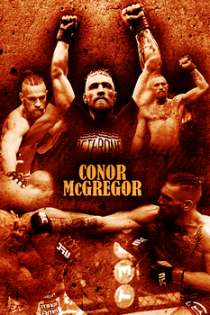 'The Notorious' Conor McGregor by Fincher7