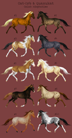 Horse Adoptable: Colab Batch by Cat-Orb-Shop