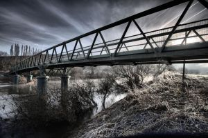 Huntshill Bridge by Oldtoppy