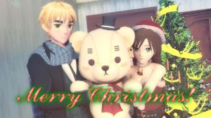 . : Merry Christmas 2016! : . by AngelBunnyMiki