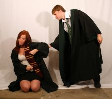 Draco and Ginny 9 by intergalacticstock
