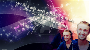 Tom Felton - Absolutely lovely by ProtectMeFromMyself