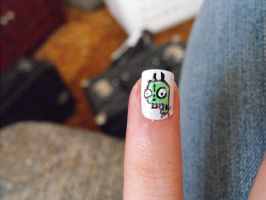 I Made Gir! by TheWorldIsLove