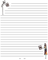 stationery Jack Skellington by Marchia