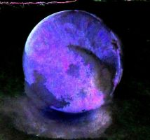 Crystal ball in the negative mode by April-Mo