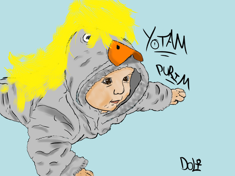 Yotam the 'Chick' by DoliZz