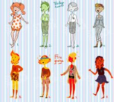 Vintage and GRUNGE - Adoptables OPEN (2/8 open) by TheStarFinders